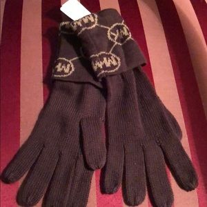 Michael Kors Brown 100% Acrylisch Gloves